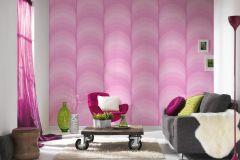 36675-2 cikkszámú tapéta.Absztrakt,különleges felületű,pink-rózsaszín,súrolható,vlies tapéta