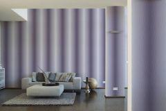 36676-3 cikkszámú tapéta.3d hatású,absztrakt,különleges felületű,lila,szürke,súrolható,vlies tapéta