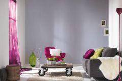 36677-6 cikkszámú tapéta.Egyszínű,különleges felületű,lila,súrolható,illesztés mentes,vlies tapéta