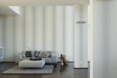 36678-1 cikkszámú tapéta.Csíkos,dekor,különleges felületű,fehér,kék,szürke,súrolható,illesztés mentes,vlies tapéta