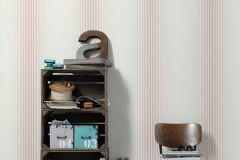 36678-3 cikkszámú tapéta.Csíkos,dekor,különleges felületű,fehér,pink-rózsaszín,súrolható,illesztés mentes,vlies tapéta