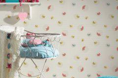 30298-2 cikkszámú tapéta.állatok,csíkos,gyerek,bézs-drapp,kék,pink-rózsaszín,sárga,szürke,zöld,lemosható,vlies tapéta