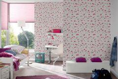30289-2 cikkszámú tapéta.állatok,dekor tapéta ,gyerek,pink-rózsaszín,piros-bordó,szürke,lemosható,illesztés mentes,vlies tapéta