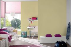 30305-1 cikkszámú tapéta.Egyszínű,sárga,gyengén mosható,illesztés mentes,papír tapéta
