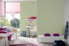 30305-3 cikkszámú tapéta.Egyszínű,gyerek,zöld,gyengén mosható,illesztés mentes,papír tapéta