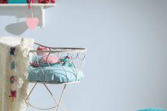 30305-7 cikkszámú tapéta.Egyszínű,gyerek,kék,gyengén mosható,illesztés mentes,papír tapéta