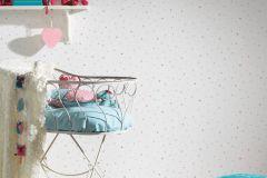 35694-3 cikkszámú tapéta.Absztrakt,gyerek,különleges motívumos,kék,lila,pink-rózsaszín,gyengén mosható,illesztés mentes,papír tapéta