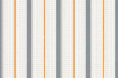 35707-3 cikkszámú tapéta.Csíkos,dekor tapéta ,gyerek,narancs-terrakotta,szürke,lemosható,illesztés mentes,vlies tapéta