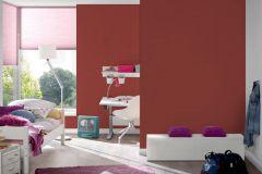35709-5 cikkszámú tapéta.Egyszínű,gyerek,piros-bordó,lemosható,illesztés mentes,vlies tapéta