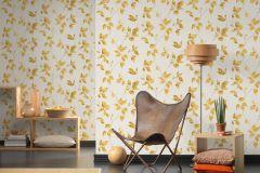 36687-2 cikkszámú tapéta.Különleges felületű,metál-fényes,természeti mintás,arany,fehér,sárga,szürke,lemosható,vlies tapéta