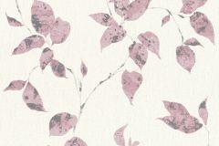36687-5 cikkszámú tapéta.Különleges felületű,metál-fényes,természeti mintás,ezüst,fehér,pink-rózsaszín,lemosható,vlies tapéta