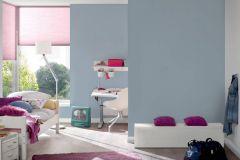 36694-4 cikkszámú tapéta.Egyszínű,különleges felületű,kék,gyengén mosható,illesztés mentes,papír tapéta