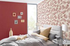 36703-4 cikkszámú tapéta.Absztrakt,csillámos,különleges felületű,metál-fényes,fehér,gyöngyház,piros-bordó,lemosható,vlies tapéta