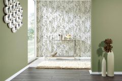 36712-3 cikkszámú tapéta.Különleges felületű,metál-fényes,természeti mintás,fehér,szürke,zöld,lemosható,vlies tapéta