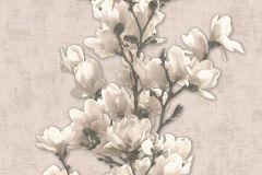 32139-2 cikkszámú tapéta.Dekor tapéta ,különleges felületű,természeti mintás,virágmintás,bézs-drapp,fehér,vajszínű,lemosható,illesztés mentes,vlies tapéta
