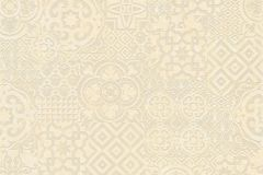 34145-1 cikkszámú tapéta.Absztrakt,geometriai mintás,különleges felületű,különleges motívumos,rajzolt,bézs-drapp,sárga,szürke,vajszínű,lemosható,vlies tapéta