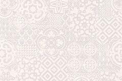 34145-2 cikkszámú tapéta.Absztrakt,geometriai mintás,különleges felületű,különleges motívumos,rajzolt,fehér,lila,szürke,lemosható,vlies tapéta