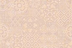 34145-3 cikkszámú tapéta.Absztrakt,geometriai mintás,különleges felületű,különleges motívumos,rajzolt,barna,fehér,narancs-terrakotta,szürke,lemosható,vlies tapéta