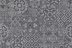 34145-7 cikkszámú tapéta.Absztrakt,geometriai mintás,különleges felületű,különleges motívumos,rajzolt,fekete,szürke,lemosható,illesztés mentes,vlies tapéta
