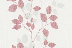34761-2 cikkszámú tapéta.Dekor,rajzolt,retro,természeti mintás,textil hatású,fehér,piros-bordó,szürke,lemosható,illesztés mentes,vlies tapéta