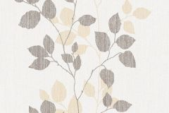 34761-5 cikkszámú tapéta.Csíkos,dekor,különleges felületű,különleges motívumos,rajzolt,retro,természeti mintás,barna,fehér,narancs-terrakotta,lemosható,illesztés mentes,vlies tapéta