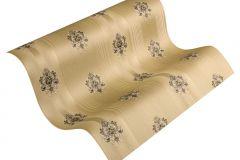 33084-1 cikkszámú tapéta.Barokk-klasszikus,csíkos,arany,barna,súrolható,illesztés mentes,vlies tapéta