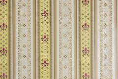 33542-1 cikkszámú tapéta.Barokk-klasszikus,csíkos,metál-fényes,barna,bézs-drapp,piros-bordó,sárga,súrolható,vlies tapéta