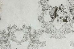 33543-1 cikkszámú tapéta.állatok,fehér,fekete,szürke,súrolható,vlies tapéta