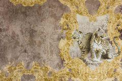 33543-3 cikkszámú tapéta.állatok,metál-fényes,arany,barna,súrolható,vlies tapéta