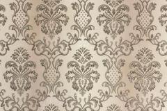 33545-1 cikkszámú tapéta.Barokk-klasszikus,metál-fényes,barna,bézs-drapp,súrolható,vlies tapéta