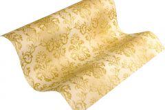 33545-2 cikkszámú tapéta.Barokk-klasszikus,metál-fényes,arany,vajszín,súrolható,vlies tapéta