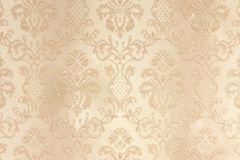 33545-5 cikkszámú tapéta.Barokk-klasszikus,metál-fényes,bézs-drapp,súrolható,vlies tapéta