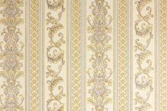 33547-2 cikkszámú tapéta.Barokk-klasszikus,csíkos,metál-fényes,arany,bézs-drapp,súrolható,vlies tapéta
