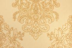 34143-4 cikkszámú tapéta.Barokk-klasszikus,különleges motívumos,metál-fényes,arany,gyöngyház,súrolható,vlies tapéta