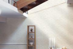 9078-51 cikkszámú tapéta.Kőhatású-kőmintás,fehér,lemosható,vlies tapéta