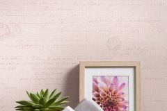 36382-1 cikkszámú tapéta.Feliratos-számos,textilmintás,pink-rózsaszín,lemosható,vlies tapéta