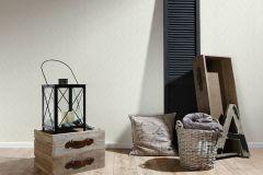 36384-2 cikkszámú tapéta.Absztrakt,különleges felületű,textilmintás,bézs-drapp,fehér,lemosható,vlies tapéta