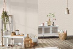 36384-3 cikkszámú tapéta.Absztrakt,különleges felületű,textilmintás,bézs-drapp,lemosható,vlies tapéta