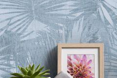 36385-5 cikkszámú tapéta.Absztrakt,különleges felületű,természeti mintás,textilmintás,kék,lemosható,vlies tapéta
