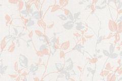 36397-3 cikkszámú tapéta.Természeti mintás,textilmintás,kék,narancs-terrakotta,pink-rózsaszín,lemosható,vlies tapéta