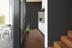 2309-42 cikkszámú tapéta.Egyszínű,különleges felületű,fekete,lemosható,illesztés mentes,vlies tapéta