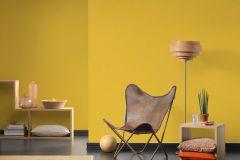 3096-55 cikkszámú tapéta.Egyszínű,különleges felületű,sárga,lemosható,illesztés mentes,vlies tapéta