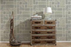 34779-2 cikkszámú tapéta.Csillámos,konyha-fürdőszobai,kőhatású-kőmintás,különleges felületű,ezüst,fehér,szürke,lemosható,papír tapéta