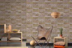 34818-2 cikkszámú tapéta.Csillámos,konyha-fürdőszobai,kőhatású-kőmintás,különleges felületű,barna,lila,szürke,lemosható,papír tapéta
