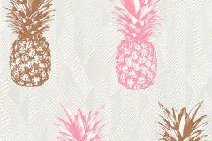 35997-3 cikkszámú tapéta.Különleges felületű,különleges motívumos,természeti mintás,bronz,fehér,gyöngyház,pink-rózsaszín,lemosható,vlies tapéta