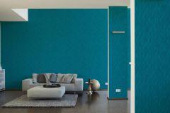 35998-2 cikkszámú tapéta.3d hatású,absztrakt,különleges felületű,kék,türkiz,lemosható,vlies tapéta