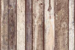 36282-2 cikkszámú tapéta.Fa hatású-fa mintás,különleges felületű,barna,bézs-drapp,súrolható,illesztés mentes,vlies tapéta