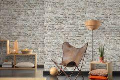 36370-2 cikkszámú tapéta.Konyha-fürdőszobai,kőhatású-kőmintás,különleges felületű,barna,bézs-drapp,fehér,súrolható,vlies tapéta