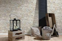 36370-3 cikkszámú tapéta.Konyha-fürdőszobai,kőhatású-kőmintás,különleges felületű,barna,bézs-drapp,vajszín,súrolható,vlies tapéta