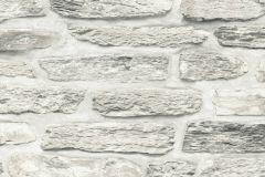 36478-3 cikkszámú tapéta.Konyha-fürdőszobai,kőhatású-kőmintás,különleges felületű,bézs-drapp,fehér,szürke,súrolható,vlies tapéta